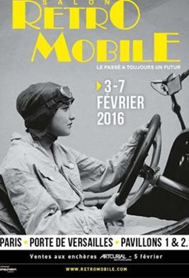 L'Automobile e la donna: Peugeot a Rétromobile