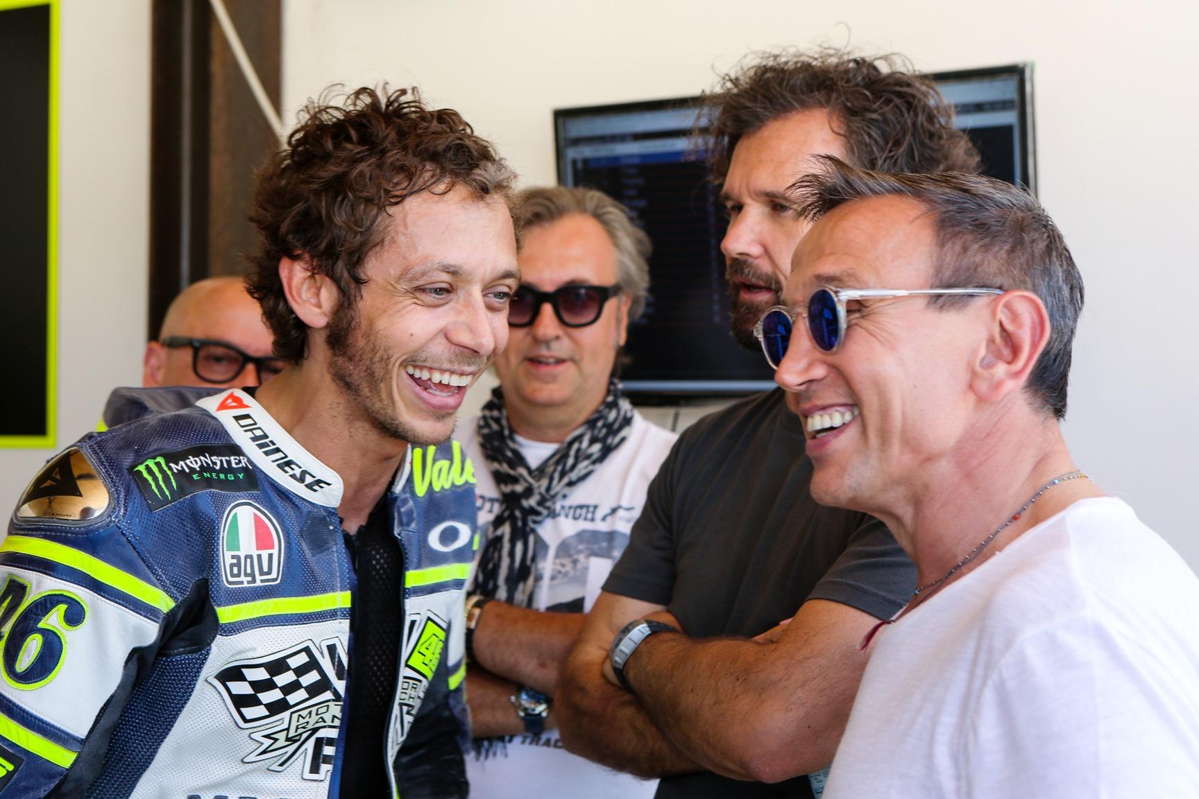 MasterChef record con Valentino Rossi
