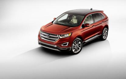 Nuova Ford Edge in Italia tra eleganza e tecnologia
