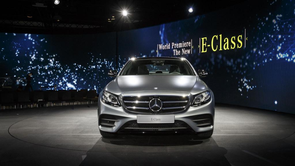 NAIAS: Mercedes nuova Classe E