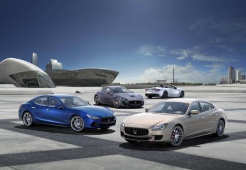 Maserati 2015: oltre 1.360 immatricolazioni in Italia