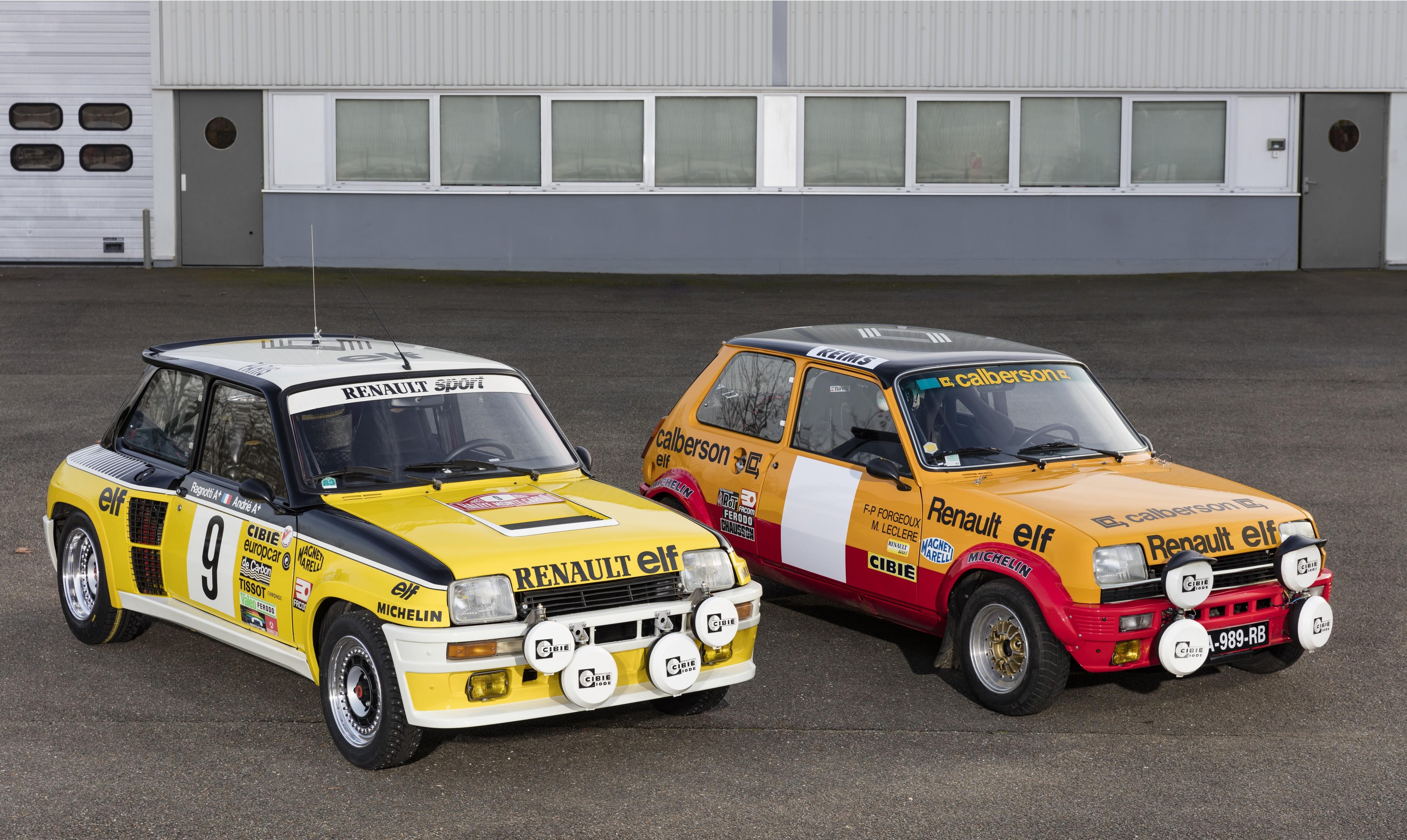 Renault: 4 equipaggi al Montecarlo storico