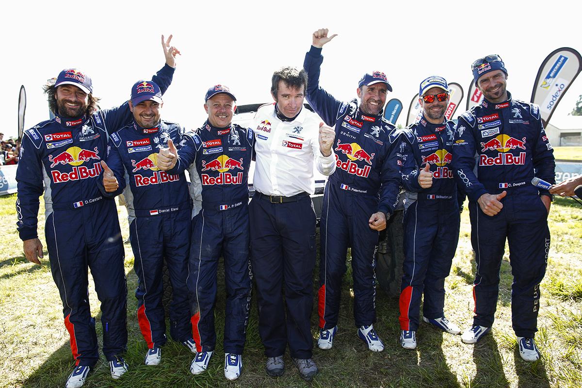 Anche Sparco vince alla Dakar