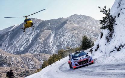 Hyundai WRC: comincia il Rally di Montecarlo