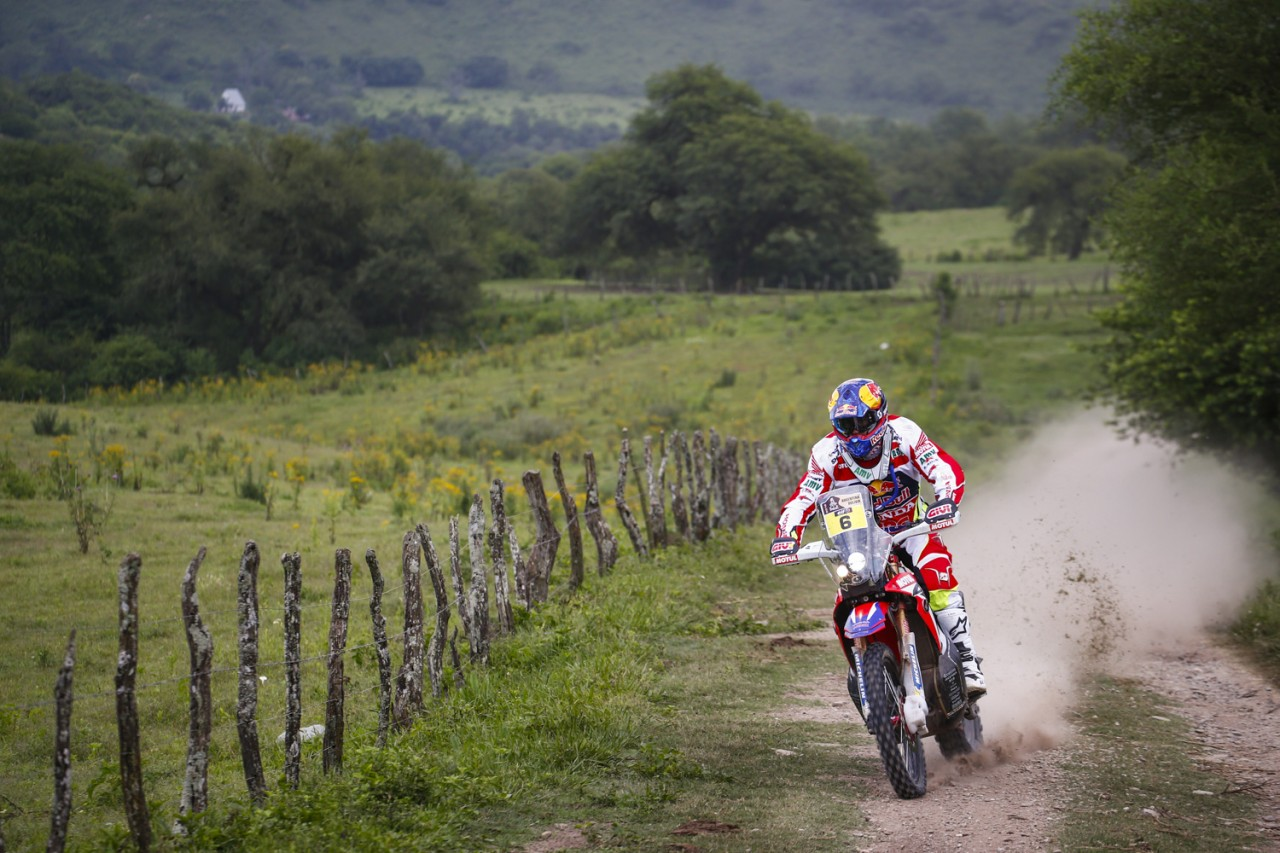 Dakar: Honda CRF450 RALLY podium lockout