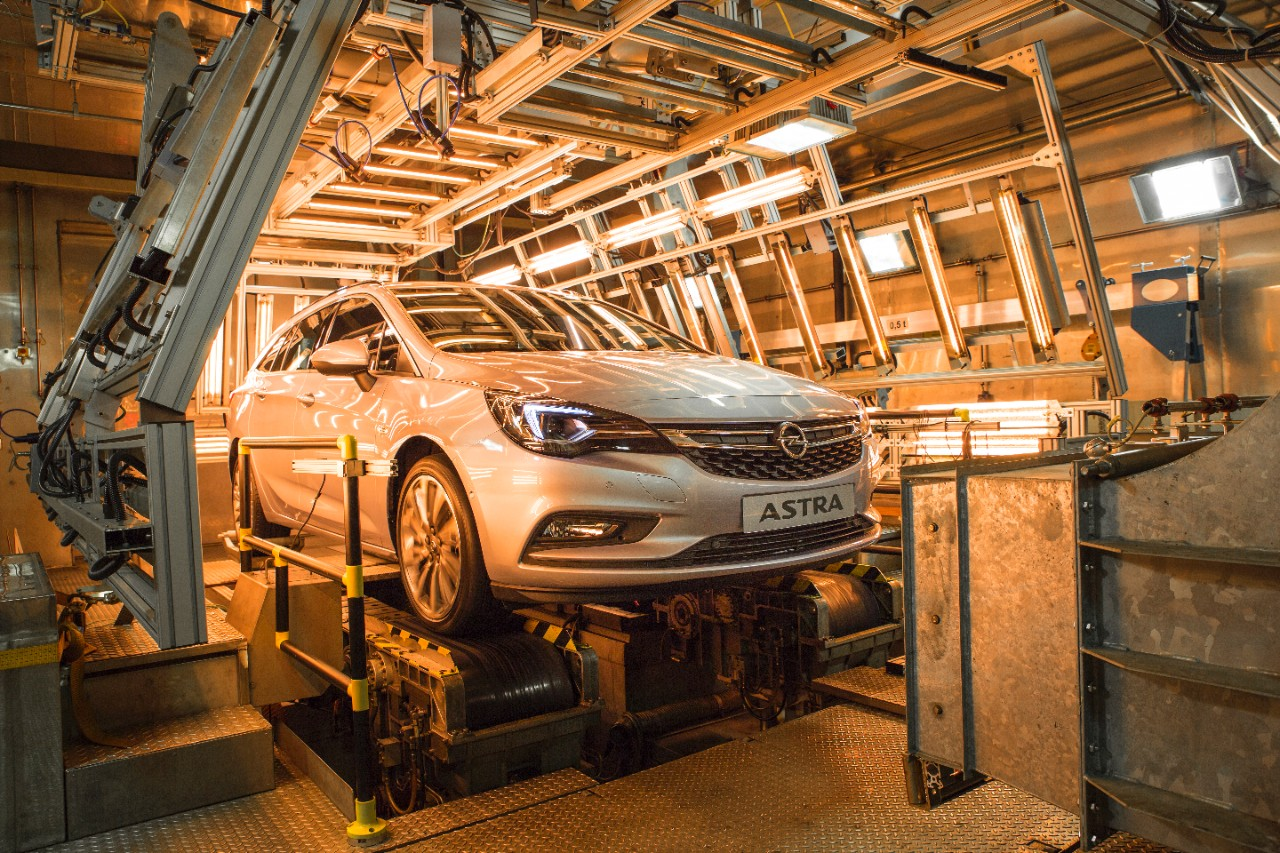 Opel Astra Sports Tourer : da -40 a +60°C