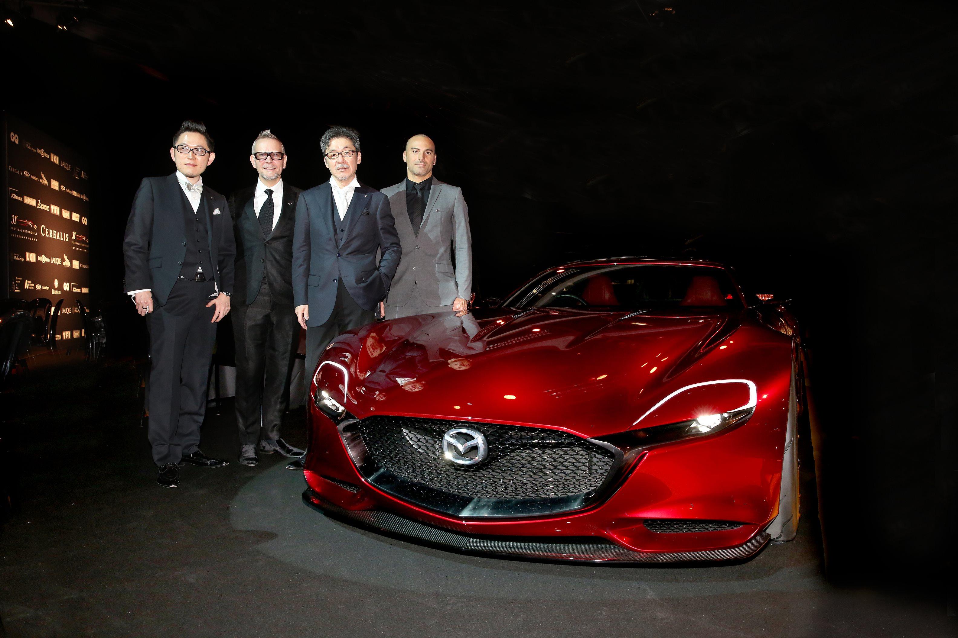"""Mazda RX-VISION eletta """"più bel concept"""""""