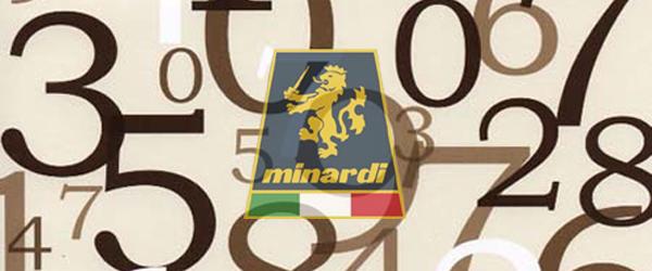 Minardi: giocando coi numeri…