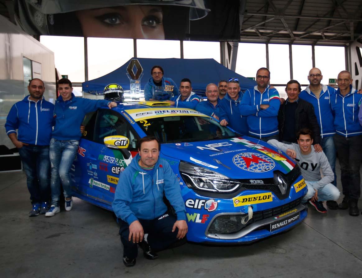Ciocca al debutto nella Clio Cup Italia