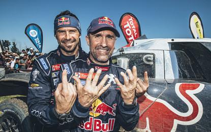 Peterhansel e Peugeot vincono la Dakar