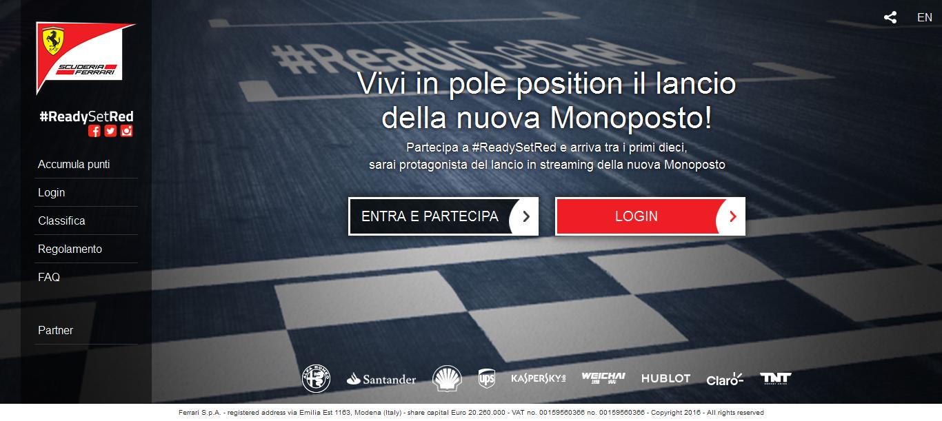 Ferrari: vivi in pole il lancio della monoposto 2016
