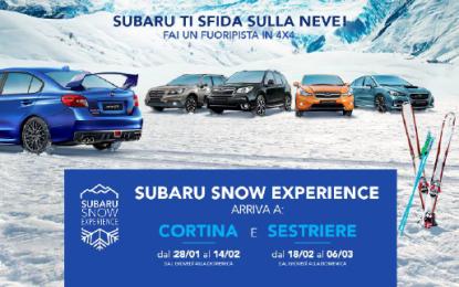 Subaru Snow Experience 2016