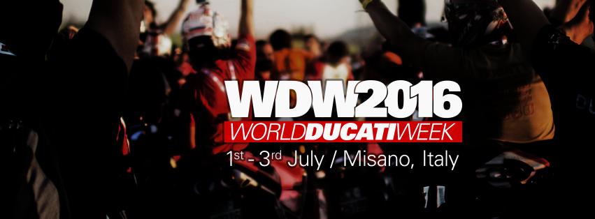 World Ducati Week 2016: conto alla rovescia