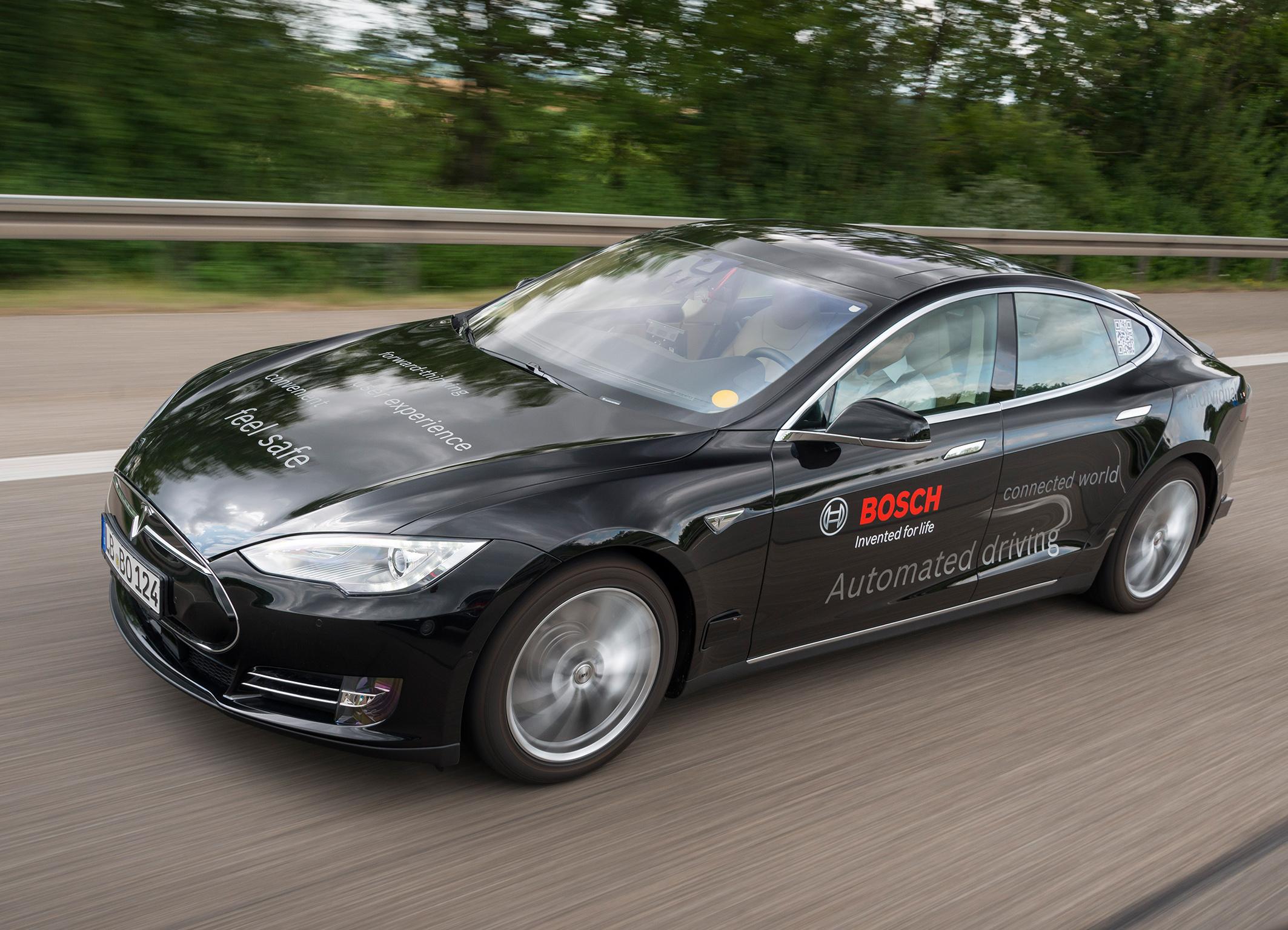 Bosch e guida autonoma: test in Giappone