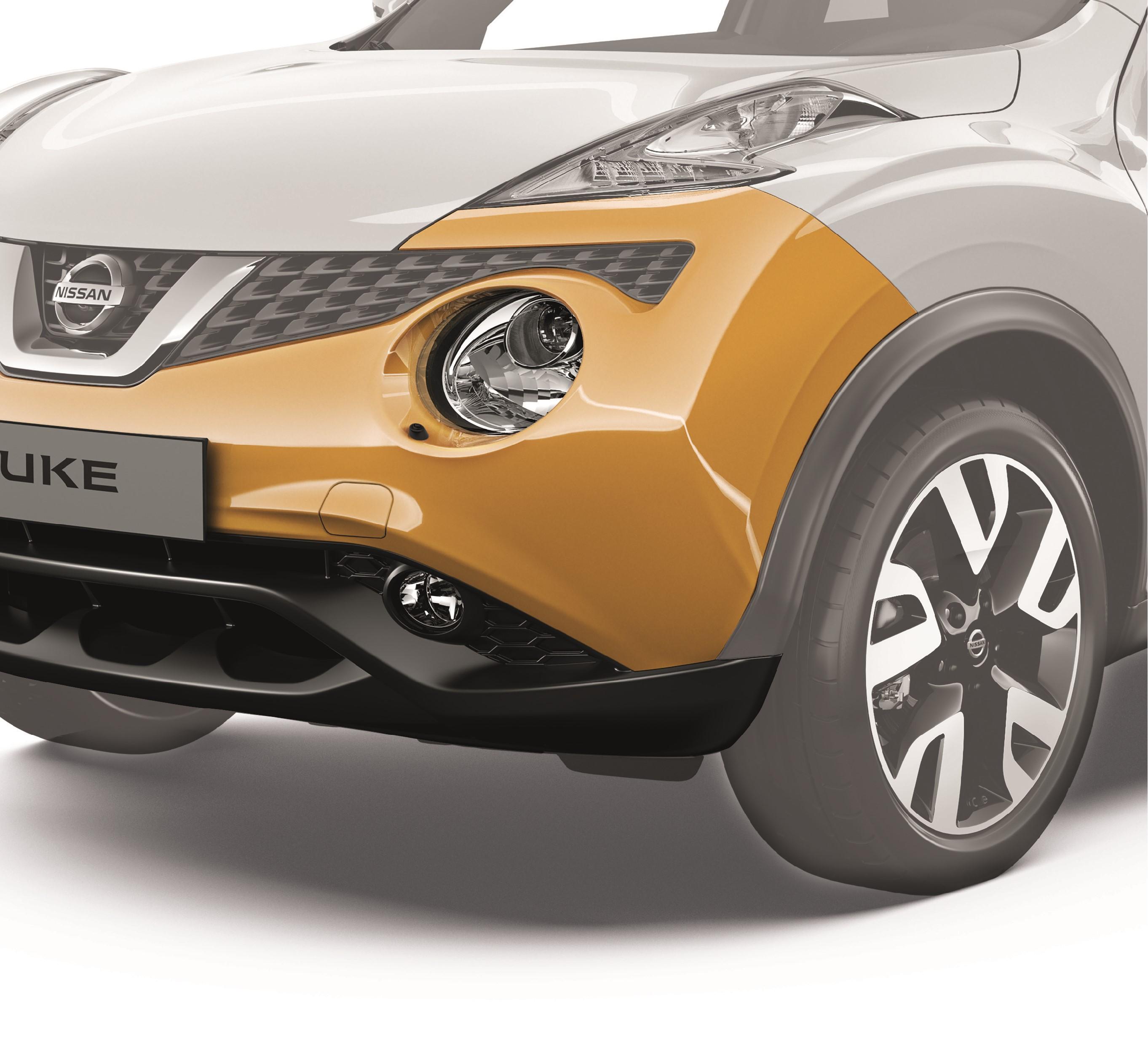 Nissan e il programma paraurti verniciati