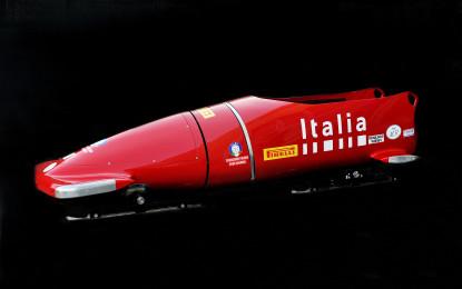 Ferrari: oltre alla SF16-H anche un bob!