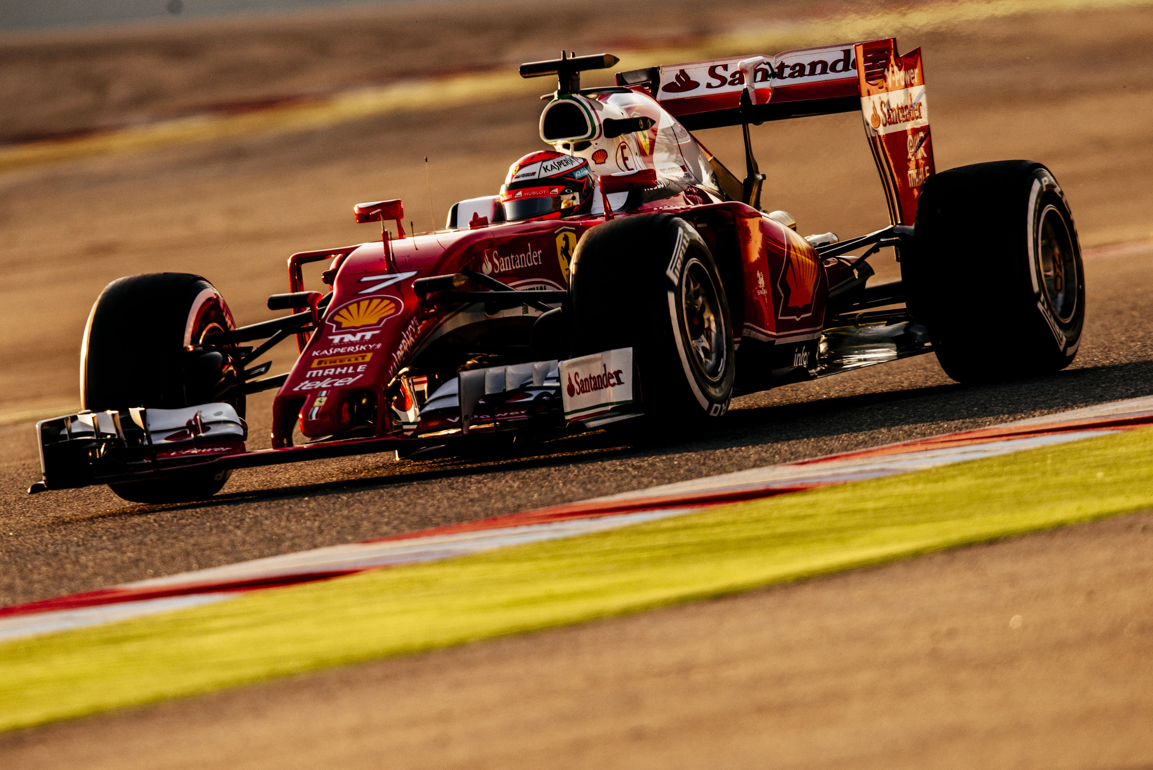 Ferrari: Raikkonen sottolinea i miglioramenti