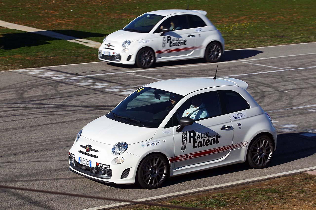 Doppio degli iscritti al Rally Italia Talent 2016