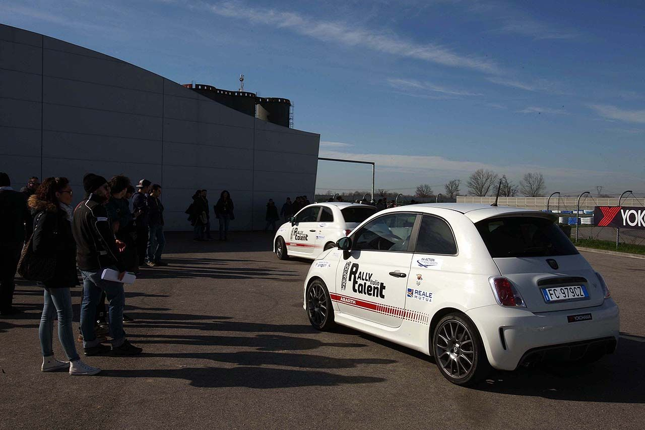 Abarth e Rally Italia Talent a Cremona