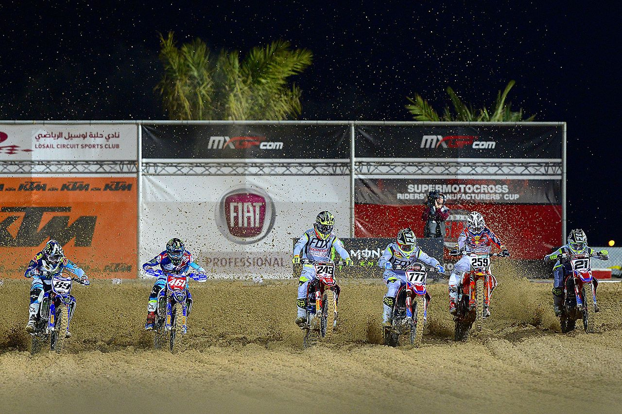 Fiat Professional official partner FIM Motocross