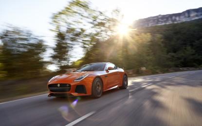 Nuova Jaguar F-Type SVR