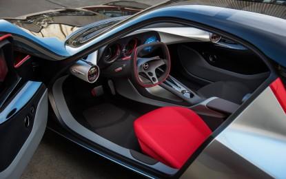 Opel GT Concept: abitacolo futuristico