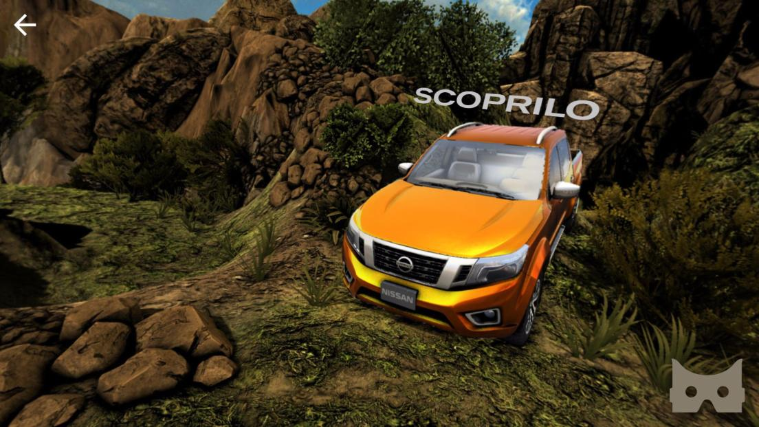 Nissan lancia la realtà virtuale immersiva