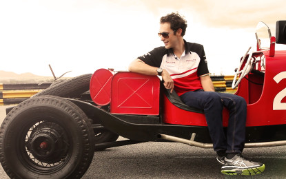 Senna and D'Ambrosio pay tribute to Fangio