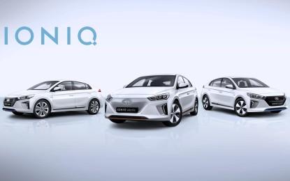 Hyundai: tre motorizzazioni elettriche per IONIQ