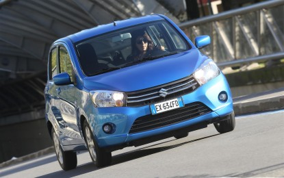 Suzuki CELERIO vince in efficienza