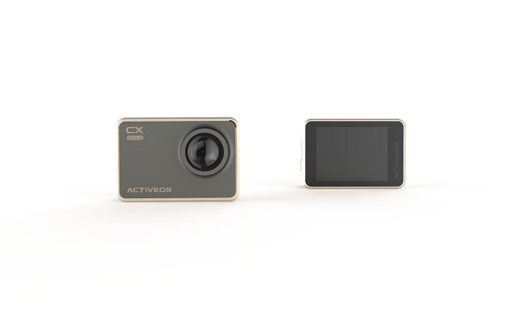 ACTIVEON presenta l'action camera CX Gold