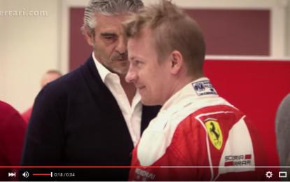 Kimi: prove sedile per il 2016