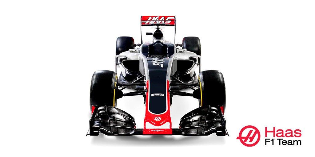 VF-16: inizia l'avventura Haas F1 Team