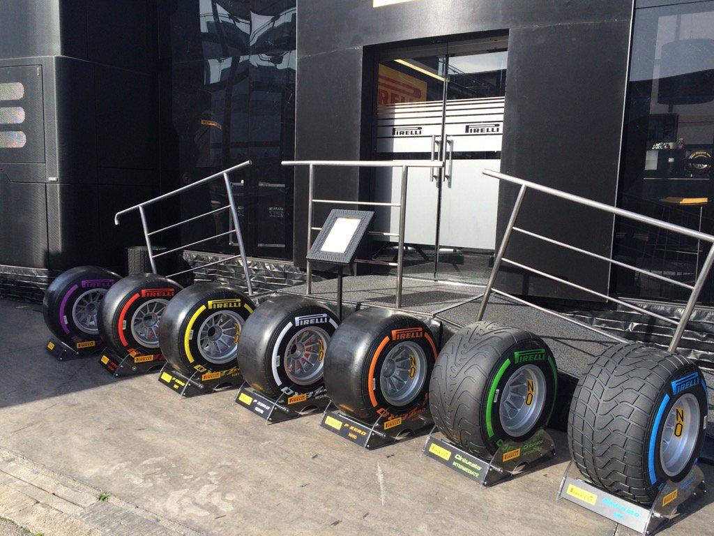 Pirelli annuncia le mescole per il Canada