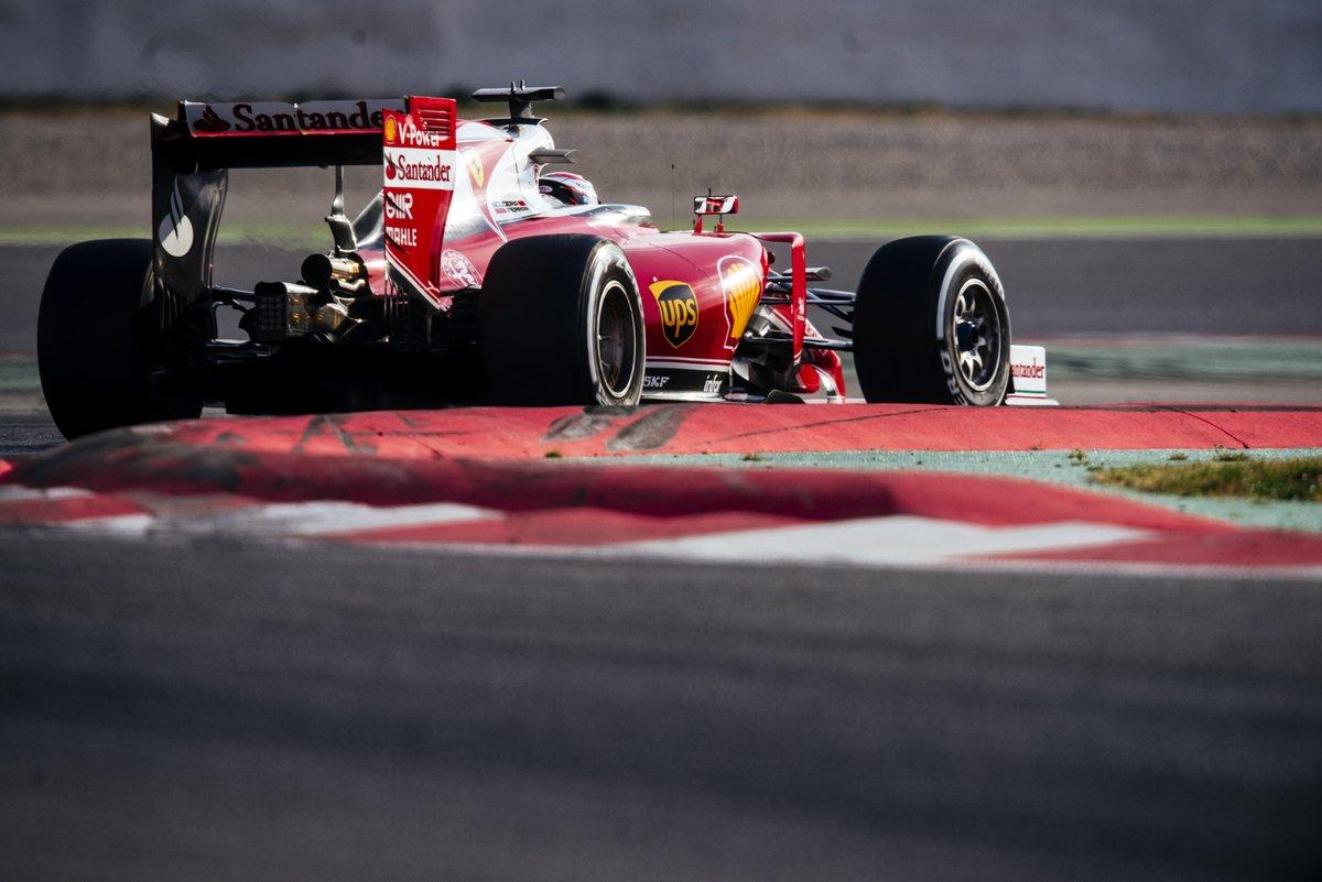 Test: Raikkonen conclude con il miglior crono