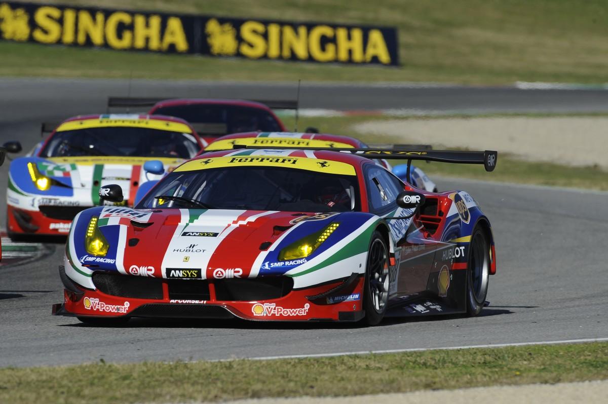 AF Corse nel WEC con due 488 e una 458 Italia