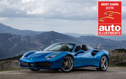 "488 Spider ""Best convertible car of the year"""