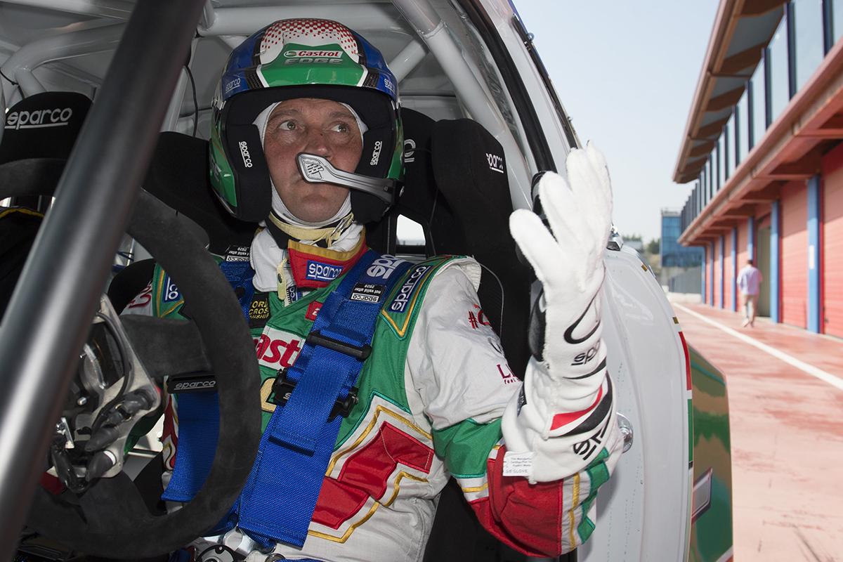 Sparco ad Automotoracing con Gigi Galli