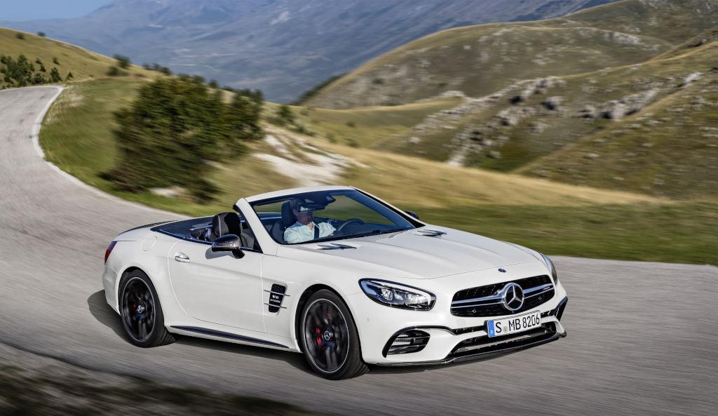 Nuova Mercedes-Benz SL: prima europea