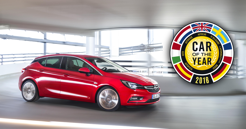 Nuova Opel Astra vince il COTY a Ginevra