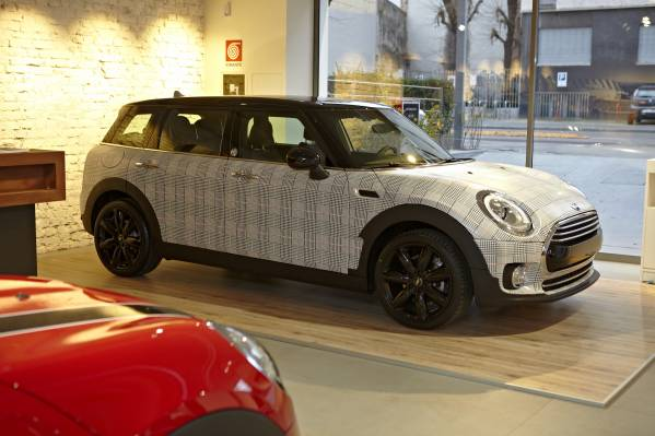 Nuova MINI Clubman in Principe di Galles