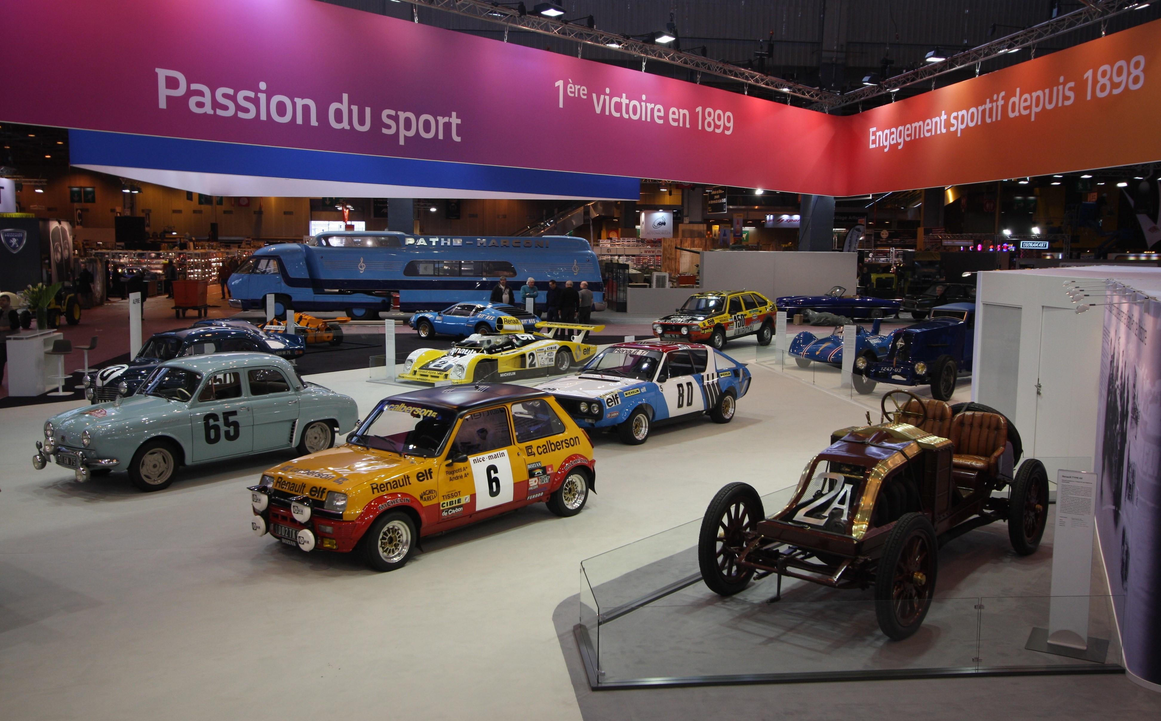 Renault: 115 anni di storia a Rétromobile