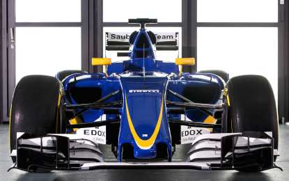 Sauber F1 Team presenta la Sauber C35-Ferrari