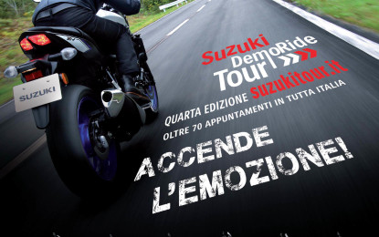 Suzuki DemoRide Tour: il weekend