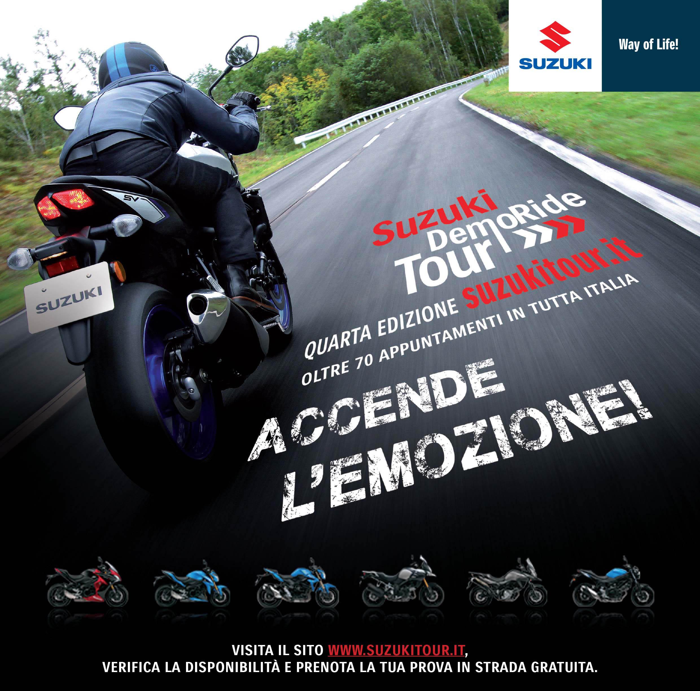 Suzuki DemoRide Tour: il weekend