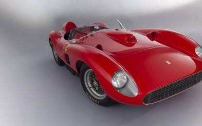 La Ferrari 335 S sbanca Rétromobile