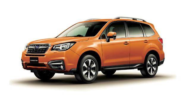 Top ASV+ per Subaru Forester