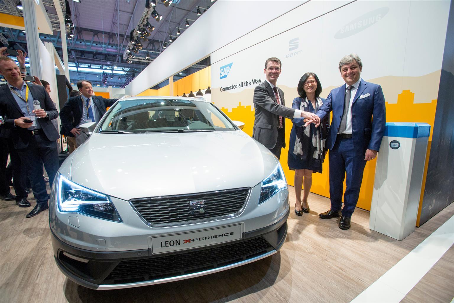 SEAT, Samsung e SAP: alleanza per il futuro