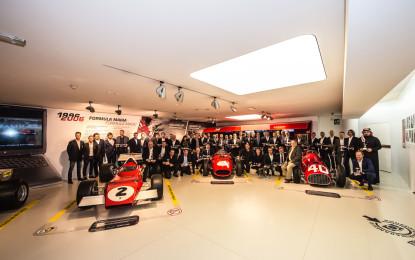 Piloti e team premiati al Museo Ferrari