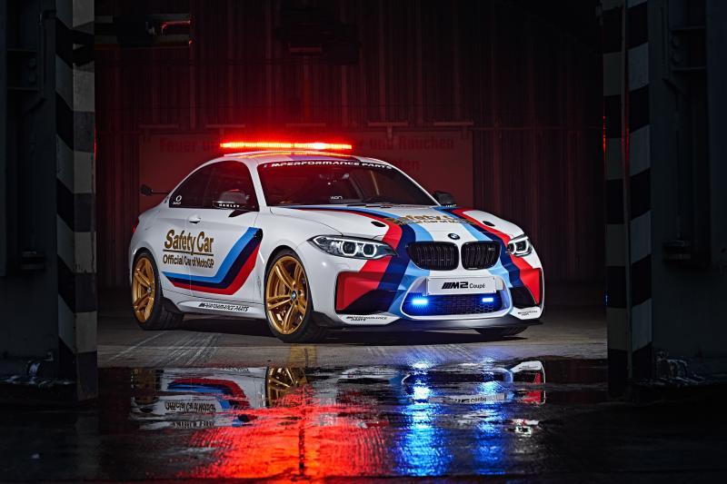 BMW M2 Coupé per la MotoGP 2016